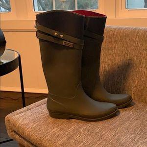 Tommy Hilfiger Rain Boots Size 8